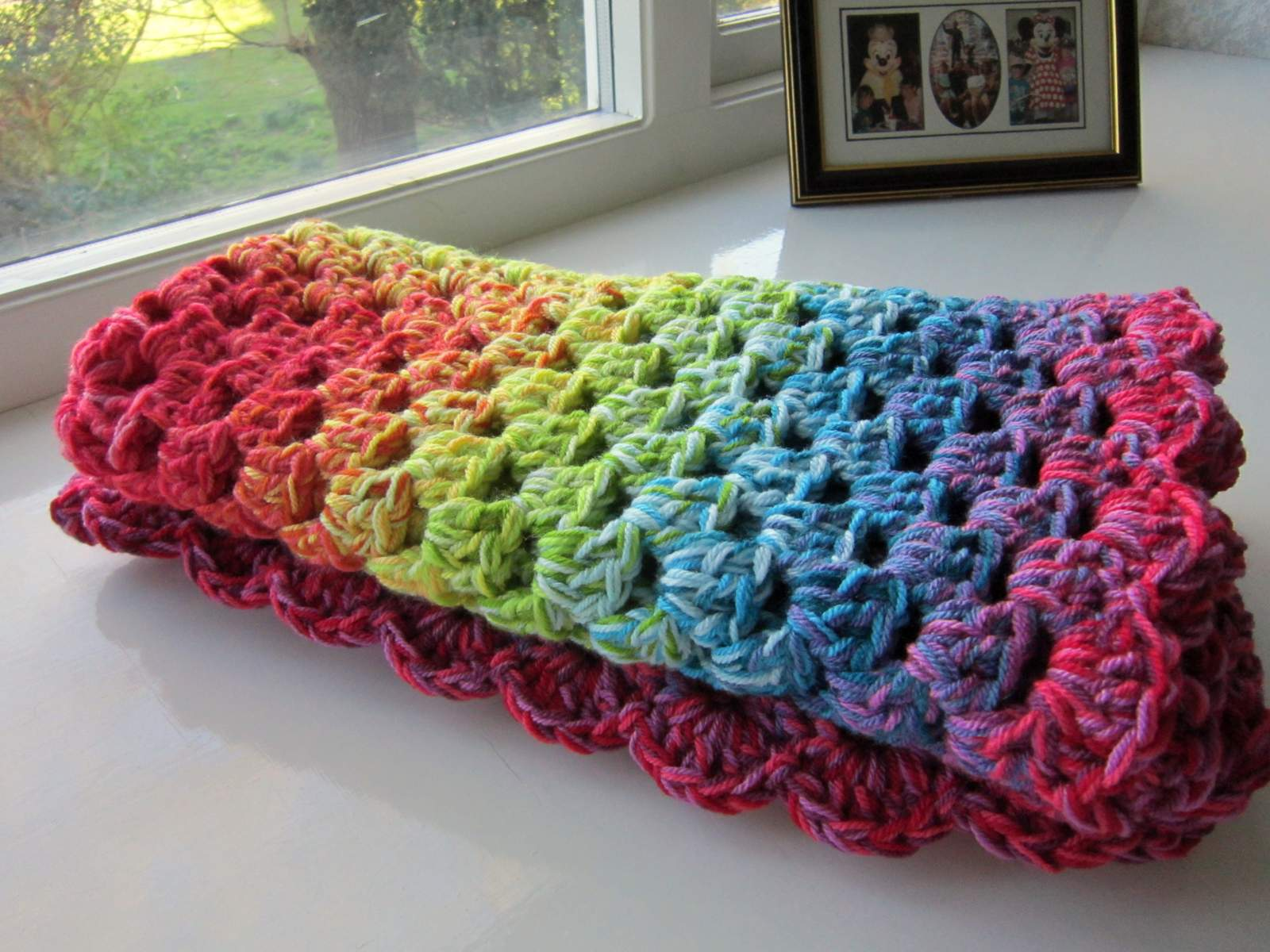 Crochet Patterns For Variegated Yarn : NOW HAVE A NEW WEBSITE AND THIS PATTERN CAN BE FOUND AT -