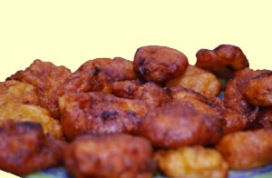 beignets de bananes plantain - cracro