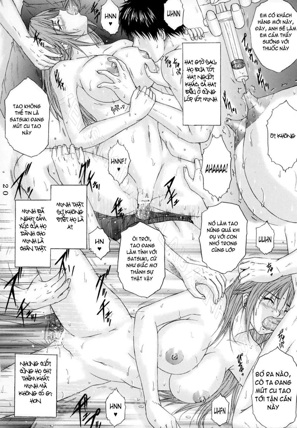 TruyenHay.Com - Ảnh 14 - Ryoujoku Rensa Chapter 7