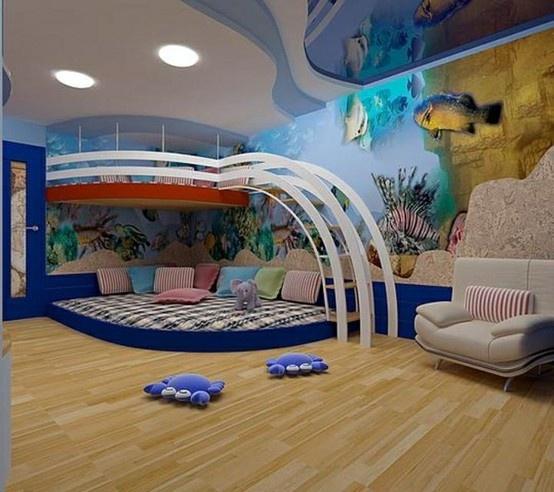 Chambre enfant bleue   DeKoBook