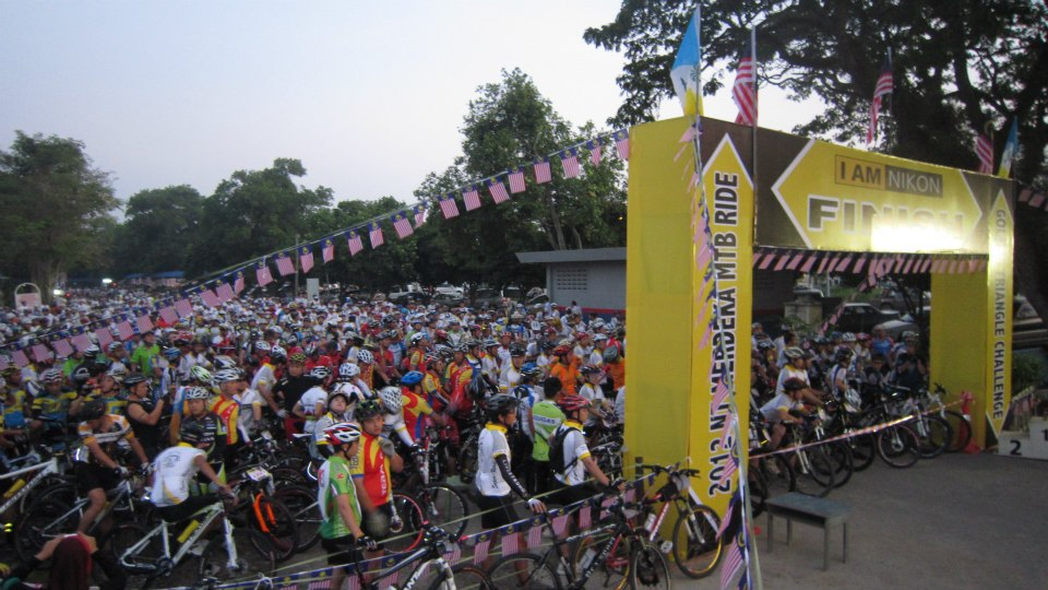 2012 Merdeka MTB Ride  2012高渊国庆脚车行