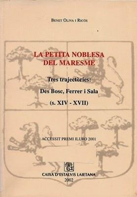 La petita noblesa del Maresme: Can Sala de Dalt