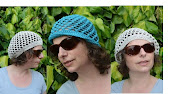 pattern lace hat and beret