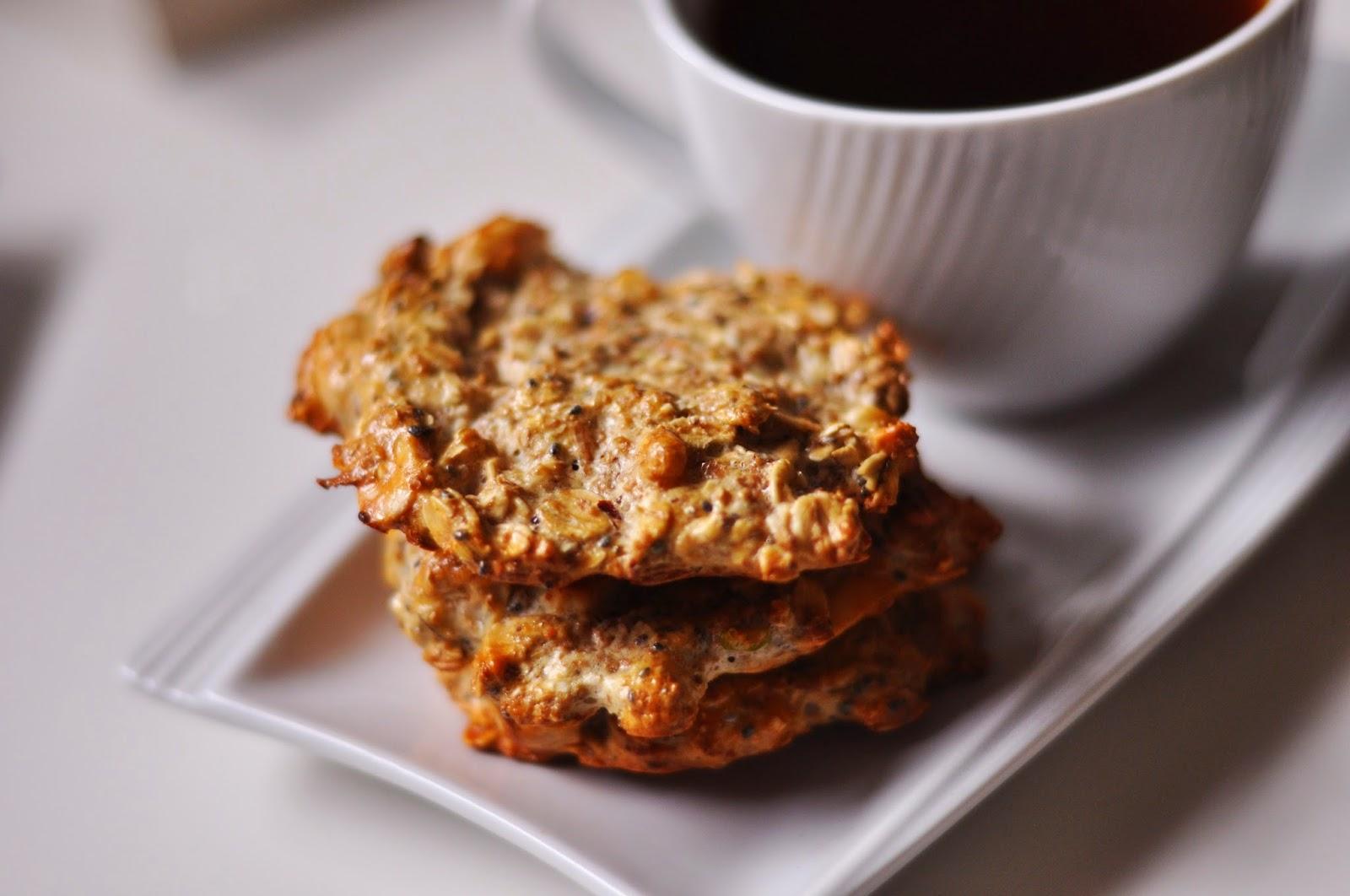 Bardzo słodkie proteinowo-owsiane ciasteczka | dietetyczne | przepis z odżywką białkową