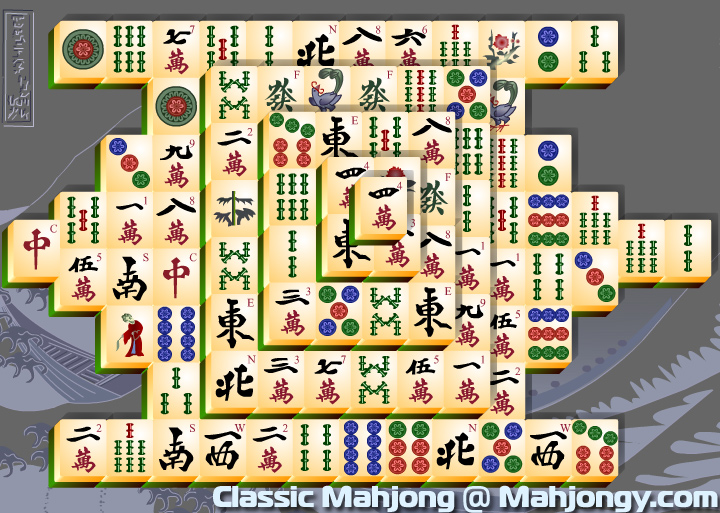 classic mahjong games