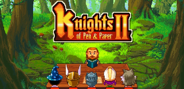 Knights of Pen & Paper 2 v2.0.6 Apk Miki