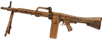 CETME Ameli light machine gun LMG