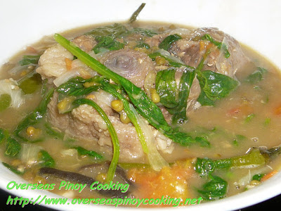 Mung beans with Oxtail