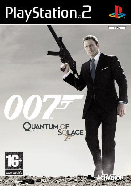 007 Quantum of Solace PAL PS2