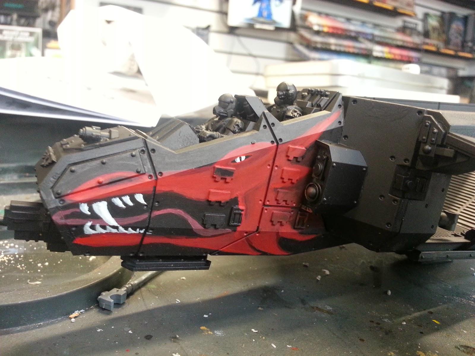 Whats On Your Table: House Targaryen for Imperial Knights in 40k