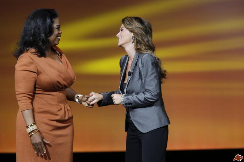 Shania Twain Oprah Winfrey Network image