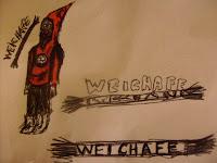 """Diseño """"El Weichafe"""" por Zirijo"""