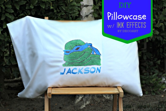 INK EFFECTS Pillowcase