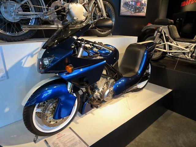 Gurney Alligator Motorcycle Barber Museum