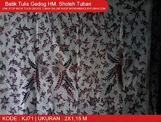 Batik Tuban 2013, Batik Gedog Tuban Baru.