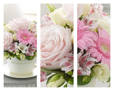 Monochromatic Floral Arrangements, Interflora, Ordering Flowers Online