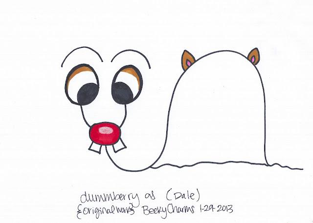Dummberry in Disguise as Twin Chipmunks Causing Shenanigans, dummberry, cartoon, design,  sketch, drawing, illustration, costumes, 2013, beckycharms, San Diego, Disney, Disneyland, art,