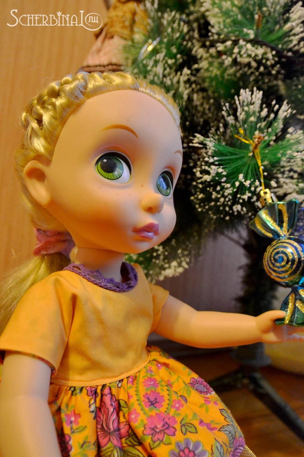 малышка Рапунцель Disney