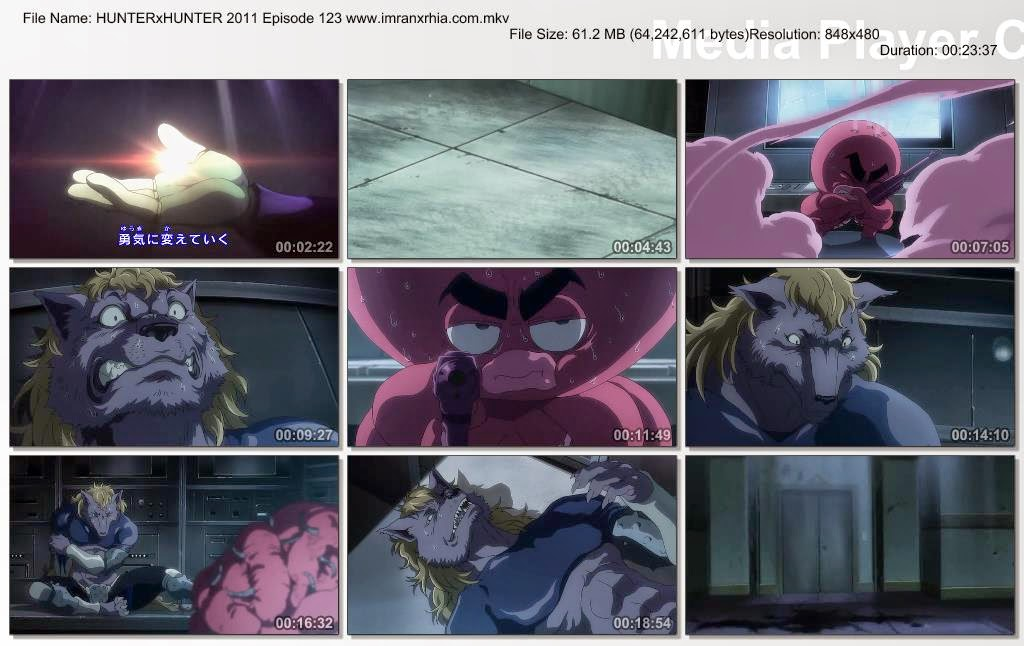 "Download Film / Anime Hunter x Hunter 2011 Episode 123 ""Lipan dan Kenangan"" Bahasa Indonesia"