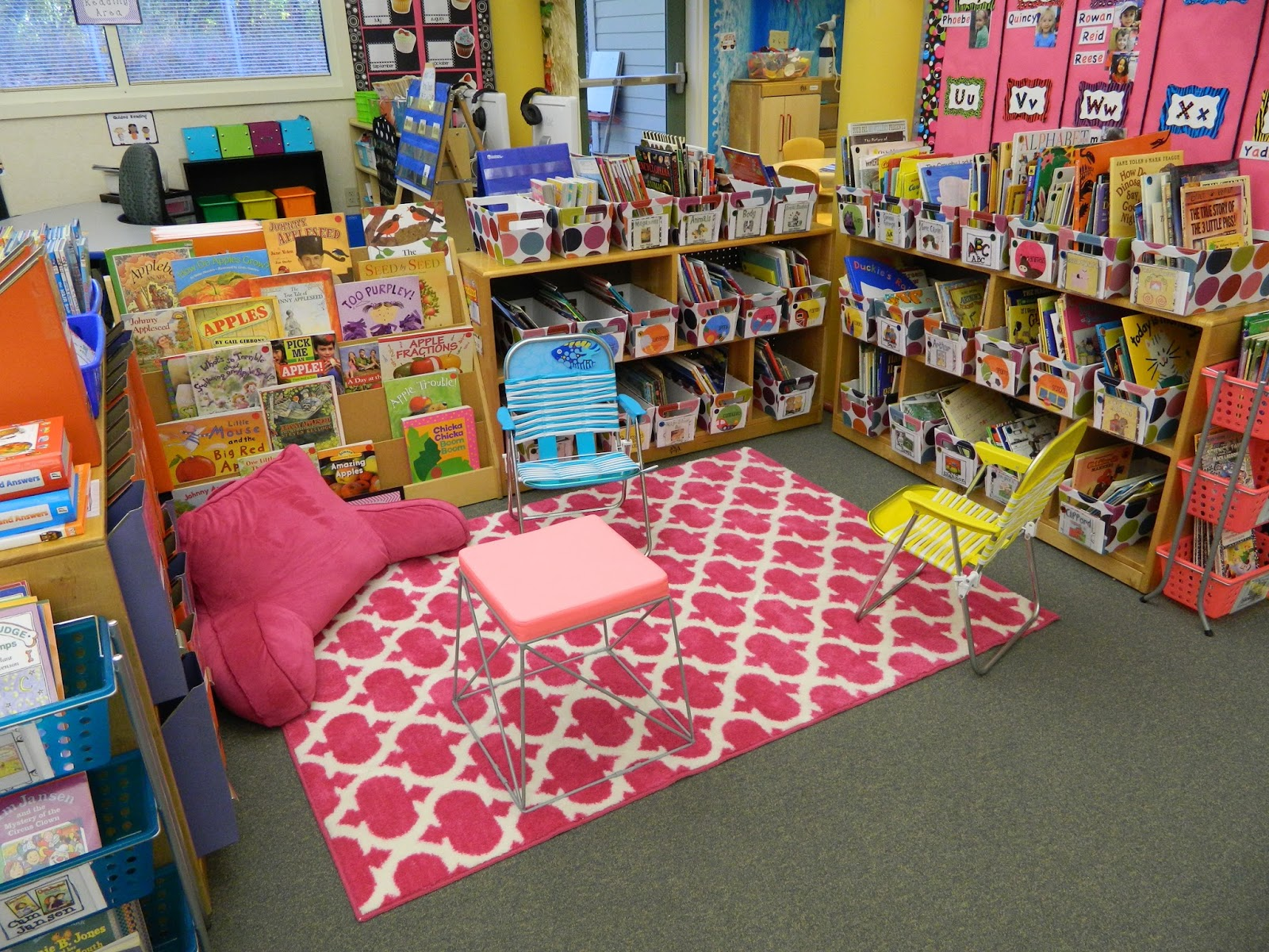 Classroom Library Ideas Kindergarten ~ Kindergarten milestones classroom tour it s finally done