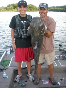 35 lb Flathead Catfish