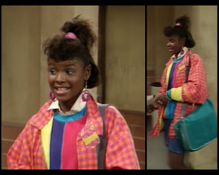 Cosby Show 80s sitcom fashion blog Huxtable Hotness Michelle Francoeur
