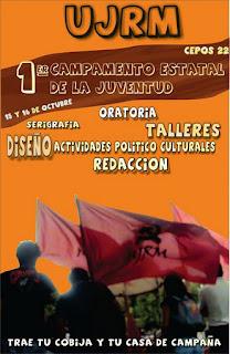 1er Campamento Estatal De La Juventud