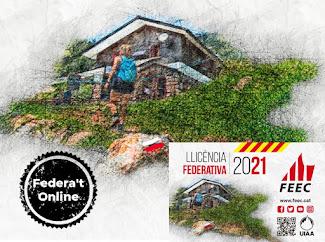 """LLICÈNCIA FEDERATIVA 2021 """"ONLINE"""""""
