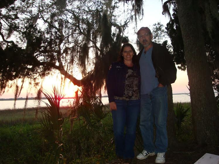 Mr. and Mrs. Moticak at Jekyll Island, Georgia