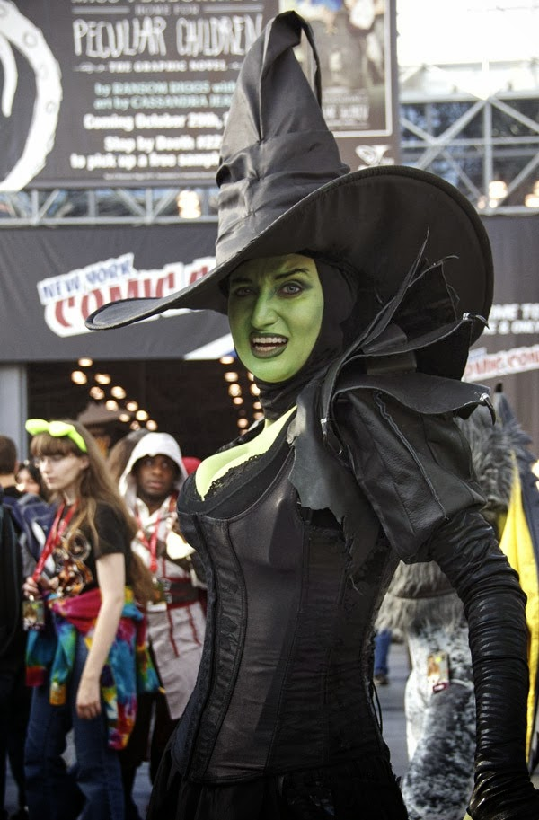 Theodora Sexy Cosplay de la New York Comic Con 2013