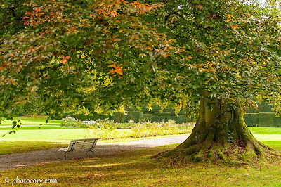 Modave Castle Garden, Belgium