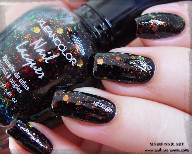 Kleancolor Chunky Holo Black6