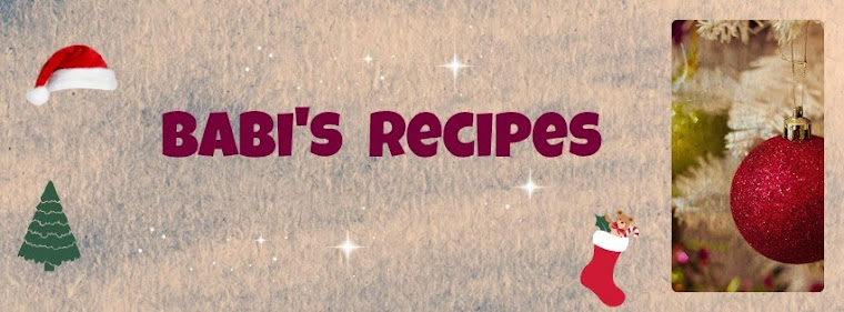 Babi 's recipes