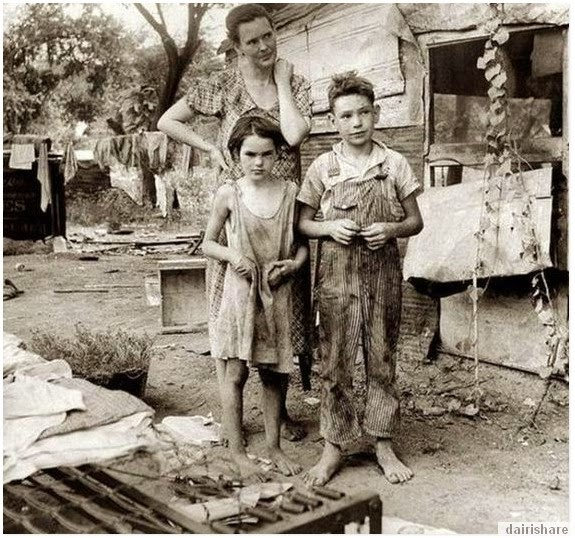 Gambar Keadaan Rakyat Amerika Semasa Pra Perang Dunia Kedua