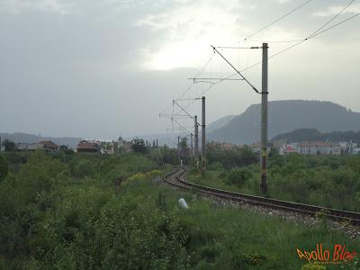 Sine de tren la Toplita
