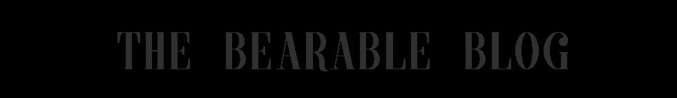 The Bearable Blog