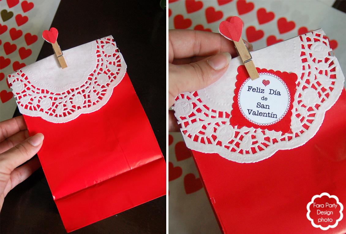 Little things creations tutorial bolsas de regalo para - Regalos especiales para san valentin ...