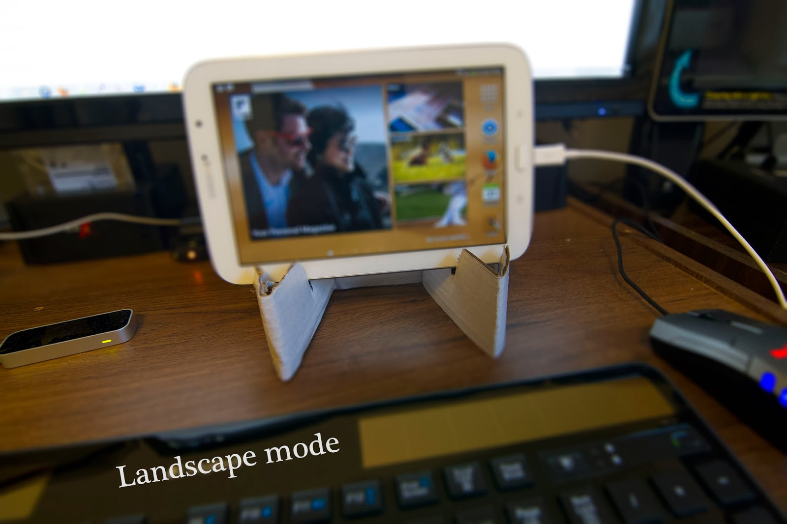 Primitive But Effective Make Your Own 7 To 8 Tablet Stand