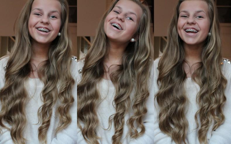 galla hår krøller
