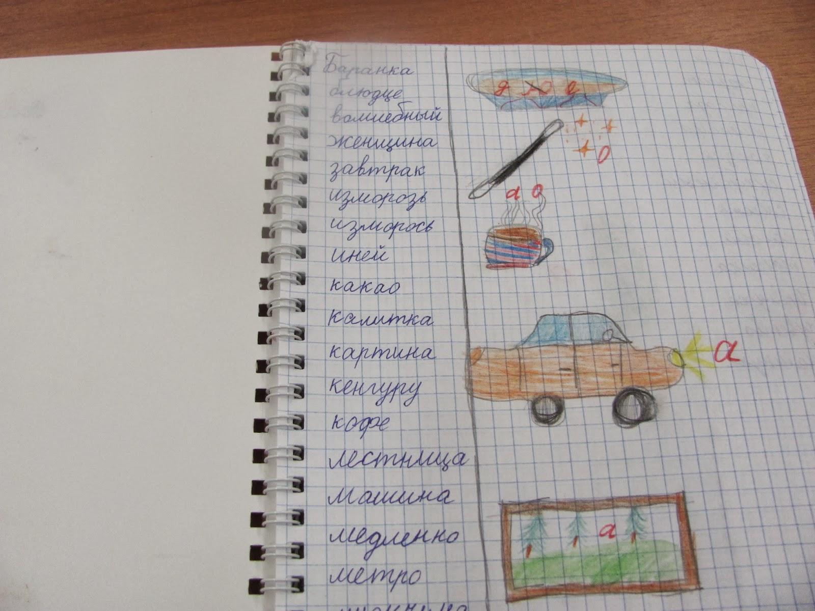 Как сделать словарик из тетради фото