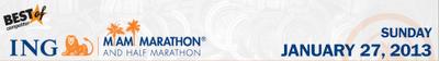 2012 Miami Marathon logo