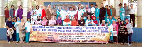 "Paguyuban Lansia ""Wreda Mulya"" Jakarta Timur"