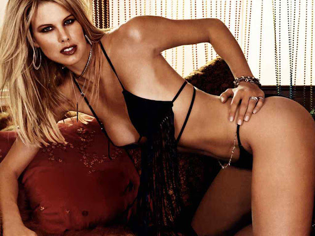 Beth Ostrosky Stern sexy in lingerie fashion