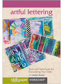 My LETTERING DVD from Interweave