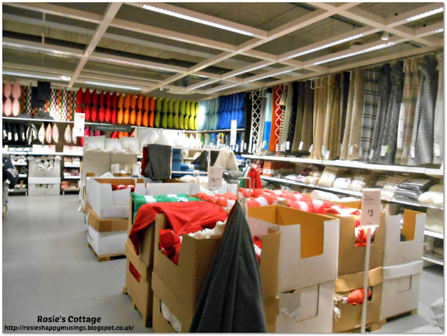 Cushions & throws department in Ikea