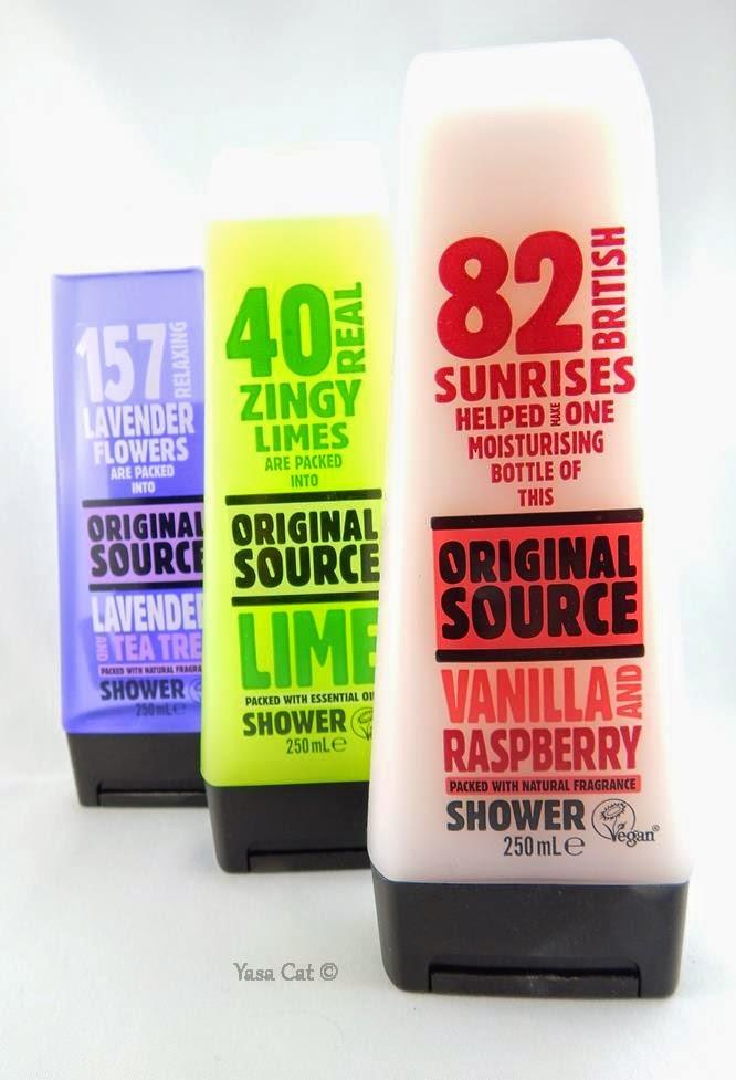 Fruchtig, duftende Duschgele von Original Source