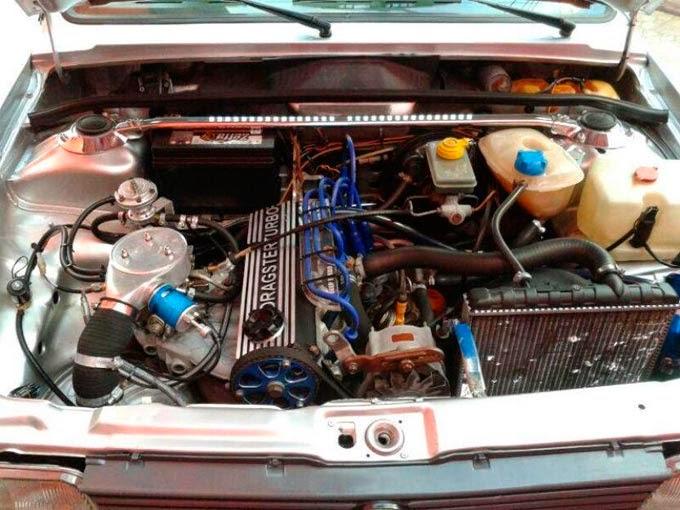 "Saveiro Quadrada Rebaixada 1.9 Turbo Rodas BBS 17"""
