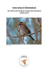 Tercer informe del Comité de Rarezas de Extremadura CREX