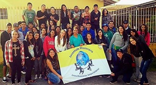 JM participa de encontro Vocacional na Diocese de Caraguatatuba