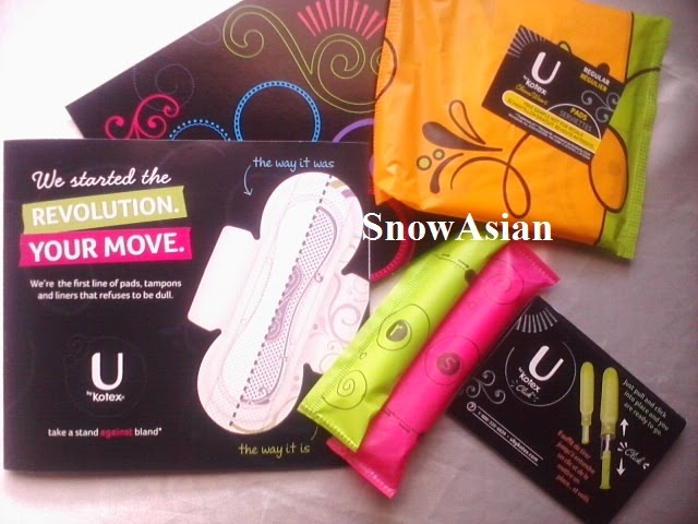 SnowAsian: In the Mail: U by Kotex Free Samples